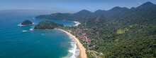 Aerial View To The Small Beach...