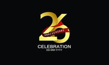 26 Year Anniversary Red Ribbon...