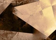 Gold Foil Paper Decorative Tex...