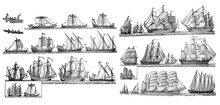 Sailingships Different Types O...
