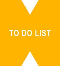 To Do List Web Sticker Button