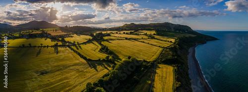 Obraz na plátně Greystones - Ireland Sunset