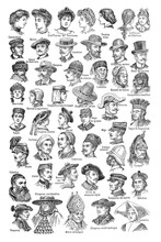 Vintage Hat Costume Collection...