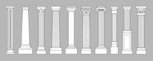 Ancient Pillars. Classic Histo...