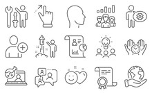 Set Of People Icons, Such As A...