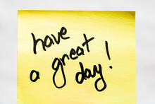 Have A Great Day Handwriting T...