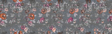 Seamless Colorful Flowers Patt...