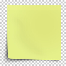 Office Yellow-green Paper Stic...