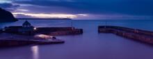 Charlestown Harbour At Sunrise...