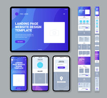 Mobile Website Landing Page Template