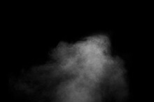 Abstract Steam With Dots Of Sp...