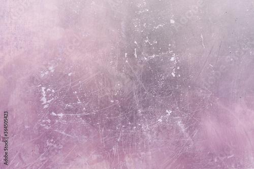 Fototapeta Grungy pink wall background obraz na płótnie