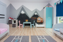 Children Bedroom For A Boy And...