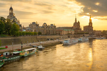 Dresden, Germany Cityscape Ove...
