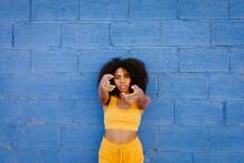 Calm African American Female W...
