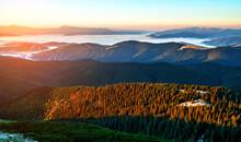 Beautiful Dawn In The Mountain...