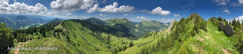 Fototapeta Allgäuer Alpen - Nagelfluh obraz