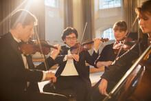 Classical Quartet Performing