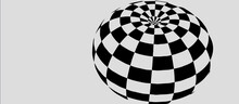 Optical Illusion. Abstract 3d ...