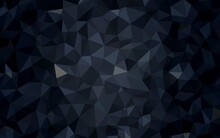 Dark Gray Vector Abstract Mosa...