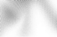The Halftone Texture Is Monoch...