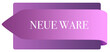 Leinwanddruck Bild - Neue Ware web Sticker Button