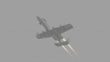 A10 Military Plane