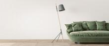 Modern Living Room Design, Gre...