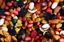 Assorted Nuts And Sweets. Trad...