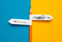Pencil - Direction Indicator -...