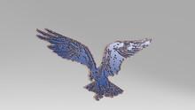 EAGLE Made By 3D Illustration ...