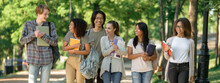 Multiethnic Group Of Young Che...
