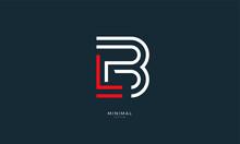 Alphabet Letter Icon Logo LB