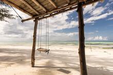 Beautiful Swing With Blue Sky ...
