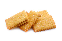 Cracker Isolated On White
