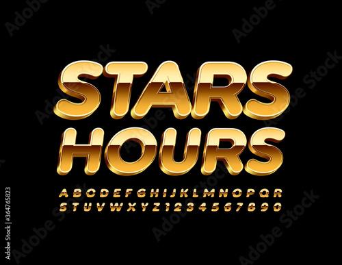 Fotomural Vector premium banner Stars Hours