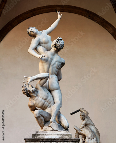 Fotomural The Rape of the Sabine Women_02