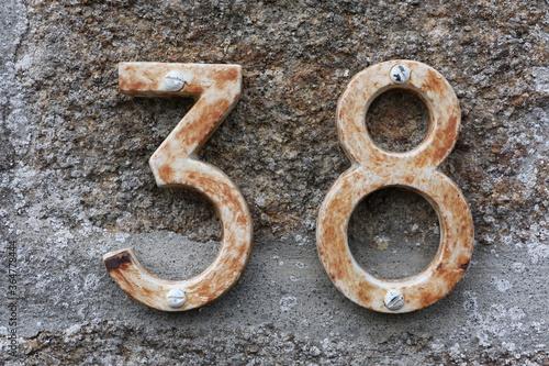 Fotografia Numéro d'habitation 38 à Cancale, France