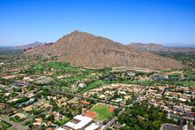 Camelback Mountain, A Hiking And Recreation Destination In The Arizona Desert