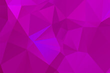 Purple Vivid Polygonal Abstrac...