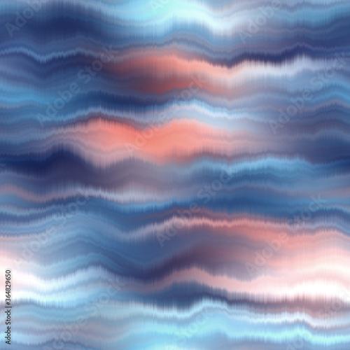 Fotografie, Obraz Blurry serene silk neutral tie dye texture background