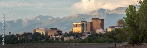 Anchorage, Alaska Canvas Print