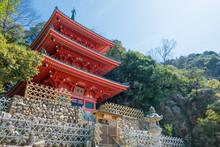 Three Storied Pagoda At Gifu P...