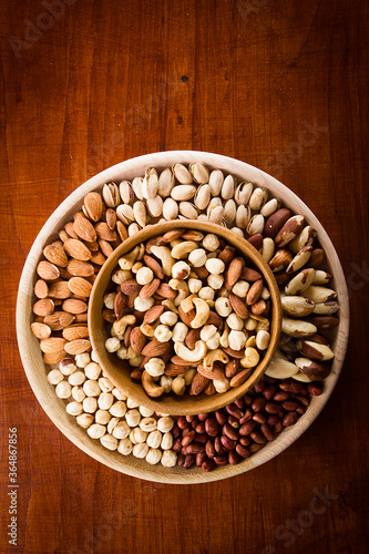 The diverse set of nuts