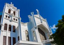 St. Paul Episcopal Church Built In 1832 On Duvall Street, Key West, Florida,USA