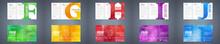 Vector Trifold Brochure Design...