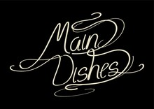 Word Main Dishes