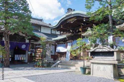 Obraz Nagi Shrine in Kyoto, Japan. The Shrine originally built in 869. - fototapety do salonu