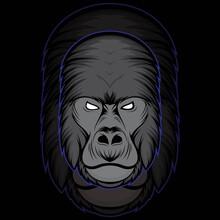Gorilla Vector Illustration