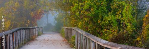 Obraz na plátně Autumn in Cuyahoga Valley National Park